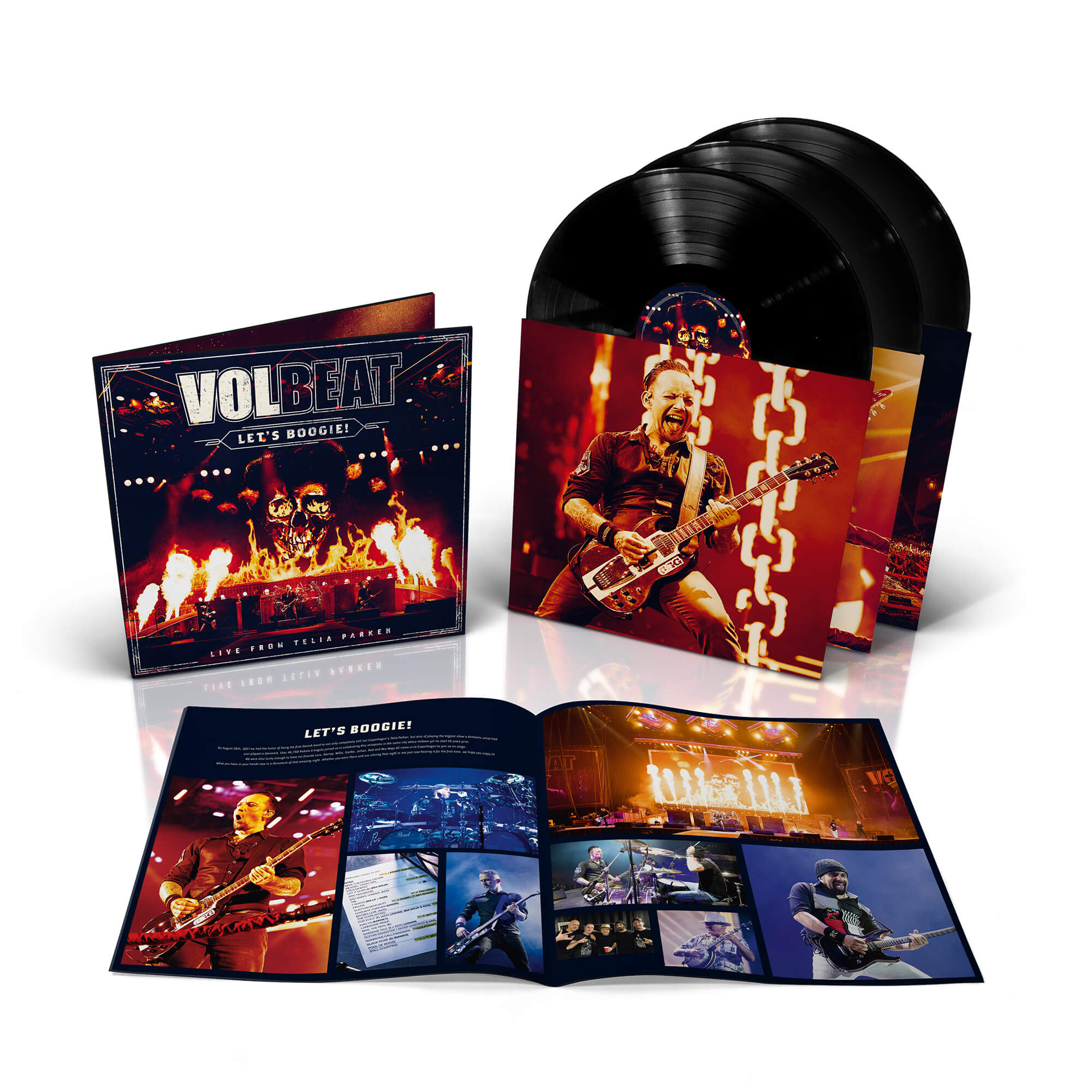 Volbeat Online Store - Let's Boogie! Live from Telia Parken (inkl
