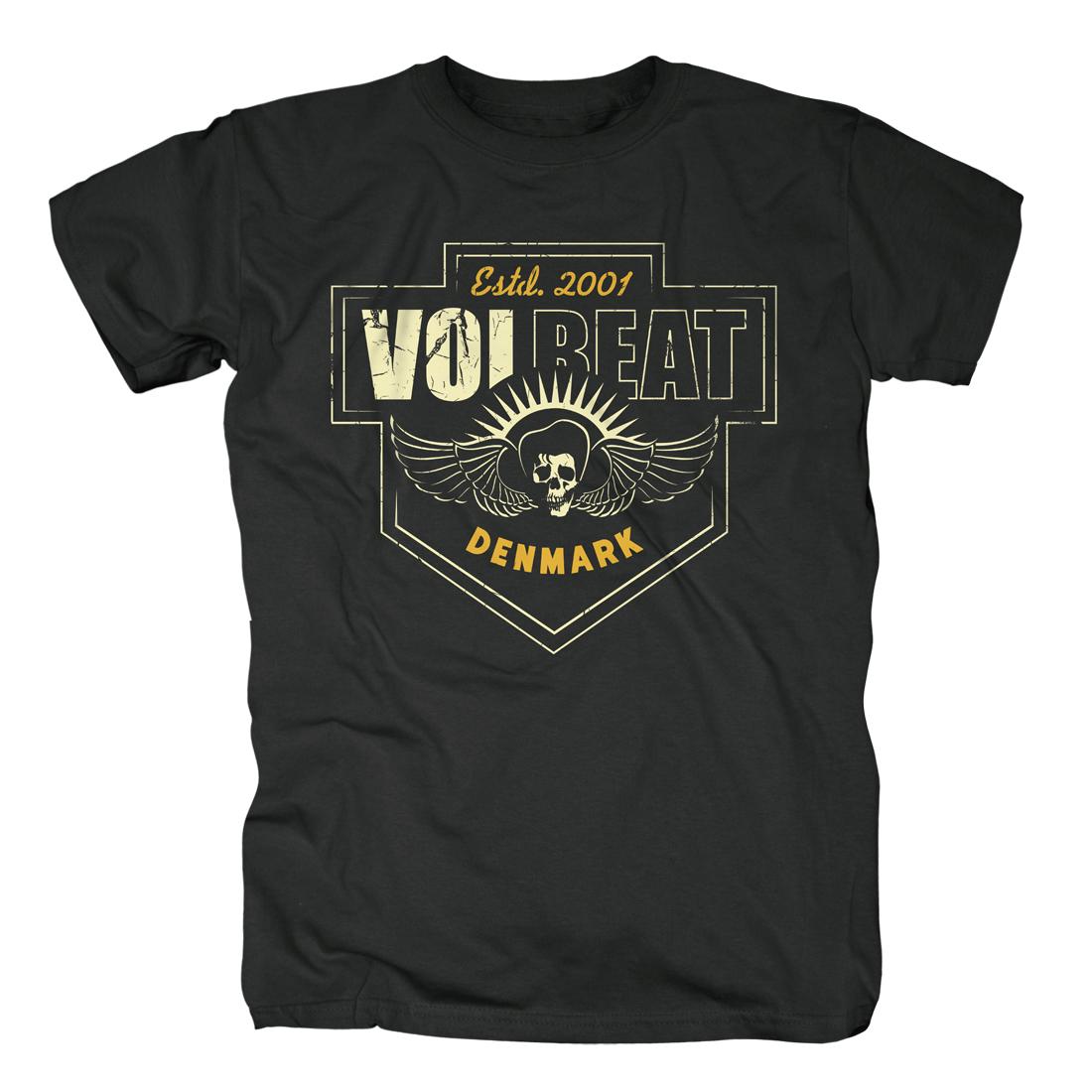 √Cross Crest von Volbeat - T-Shirt jetzt im Volbeat Shop