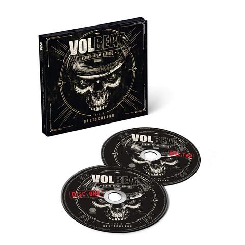Rewind, Replay, Rebound: Live In Deutschland (2CD) von Volbeat - 2CD jetzt im Volbeat Shop