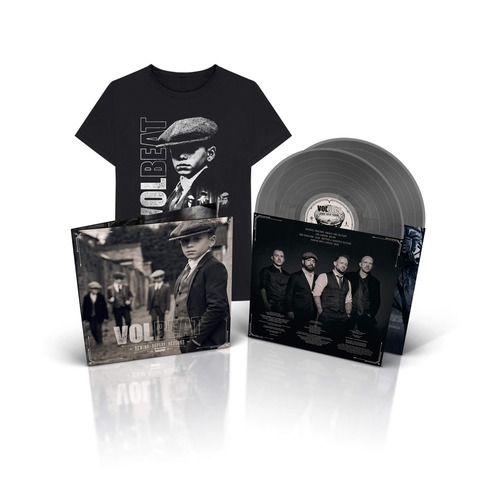 √Rewind, Replay, Rebound (Ltd. Silver 2LP + T-Shirt Bundle) von Volbeat - LP Bundle jetzt im Volbeat Shop