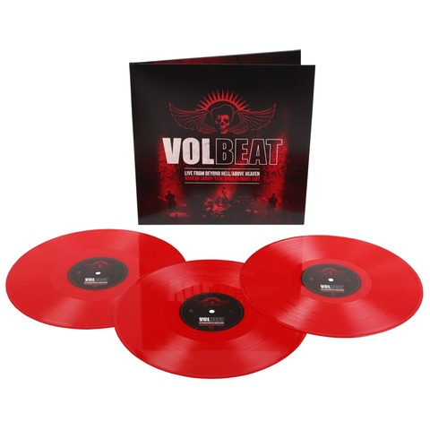 √Live From Beyond Hell/Above Heaven von Volbeat - LP jetzt im Volbeat Shop