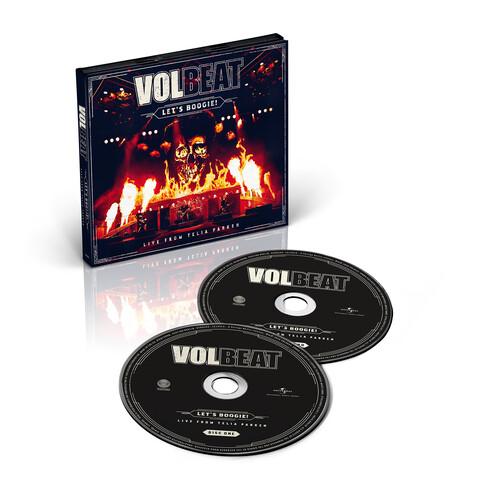 √Let's Boogie! Live from Telia Parken (2CD) von Volbeat - CD jetzt im Volbeat Shop