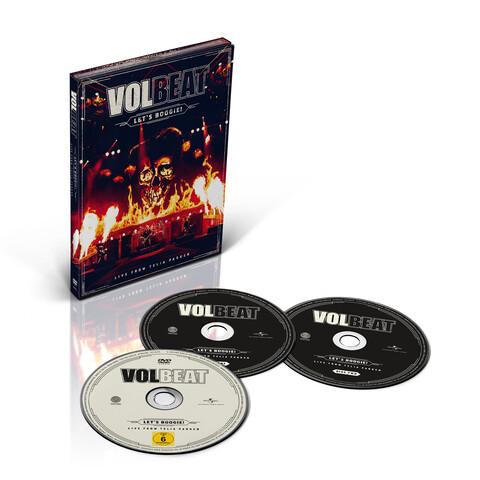 √Let's Boogie! Live from Telia Parken (2CD + DVD) von Volbeat - CD jetzt im Volbeat Shop