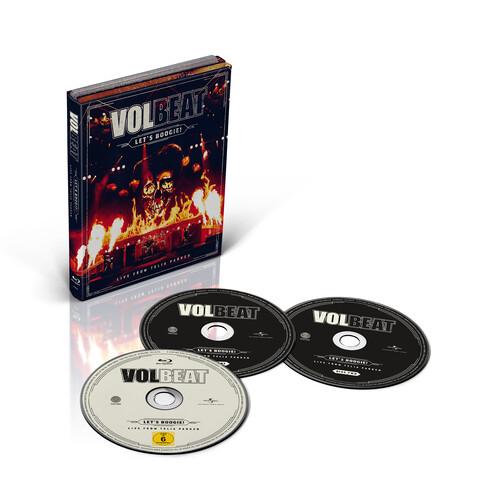 √Let's Boogie! Live from Telia Parken (2CD + BD) von Volbeat - CD jetzt im Volbeat Shop