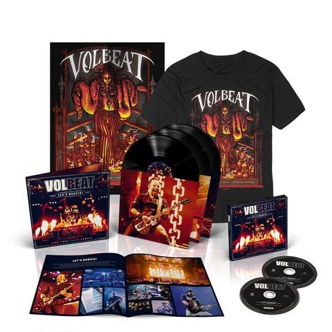 Let's Boogie! Live (Vinyl/CD/T-Shirt/Poster Bundle) von Volbeat - LP jetzt im Volbeat Shop