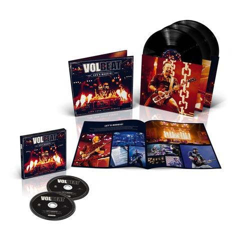 √Let's Boogie! Live (Vinyl/CD Bundle) von Volbeat - LP jetzt im Volbeat Shop