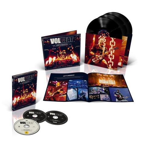 √Let's Boogie! Live (Vinyl/CD/DVD Bundle) von Volbeat - LP jetzt im Volbeat Shop