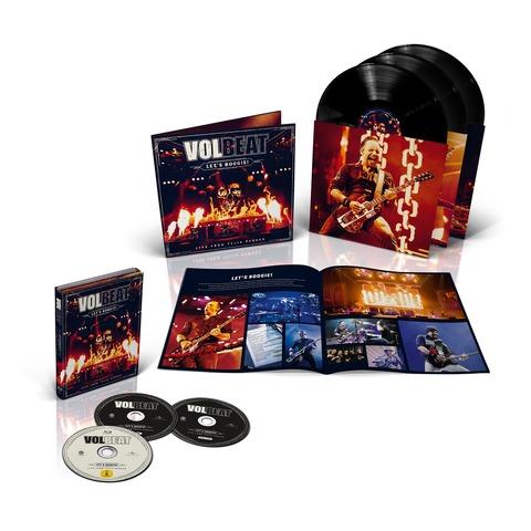 √Let's Boogie! Live (Vinyl/CD/BluRay Bundle) von Volbeat - LP jetzt im Volbeat Shop