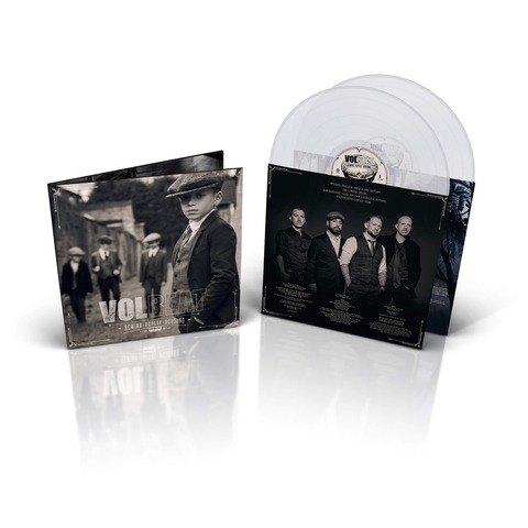 √Rewind, Replay, Rebound (Ltd. Clear 2LP, inkl. MP3 Code) von Volbeat - LP jetzt im Volbeat Shop