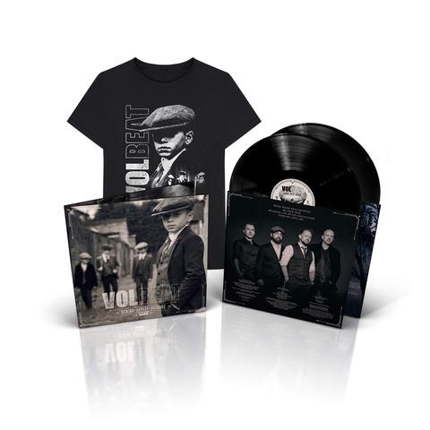 √Rewind, Replay, Rebound (2LP & T-Shirt Bundle, Größe L) von Volbeat - LP Bundle jetzt im Volbeat Shop