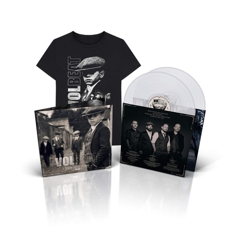 √Rewind, Replay, Rebound (Ltd. Clear 2LP & T-Shirt Bundle) von Volbeat - LP Bundle jetzt im Volbeat Shop