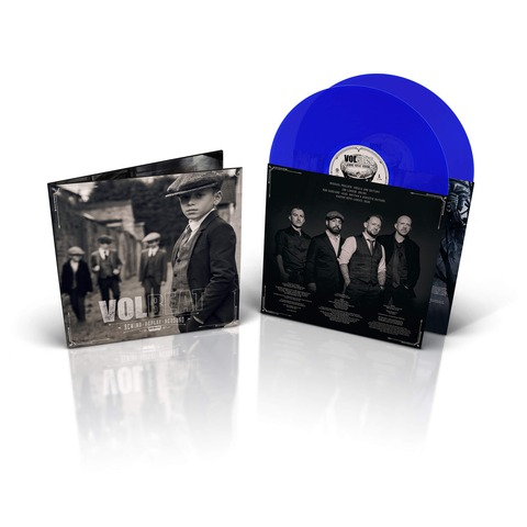 √Rewind, Replay, Rebound (Ltd. Blue 2LP, inkl. MP3 Code) von Volbeat - LP jetzt im Volbeat Shop
