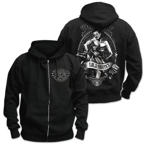 √Lola Crest von Volbeat - Hooded jacket jetzt im Volbeat Shop