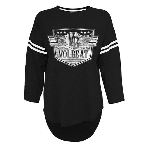 √Retro Sign von Volbeat - Girlie Longsleeve jetzt im Volbeat Shop