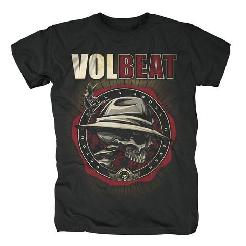 √Beyond Shield Logo von Volbeat - T-shirt jetzt im Volbeat Shop