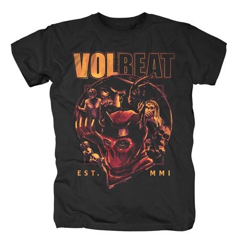 √Circle Of Death von Volbeat - T-shirt jetzt im Volbeat Shop