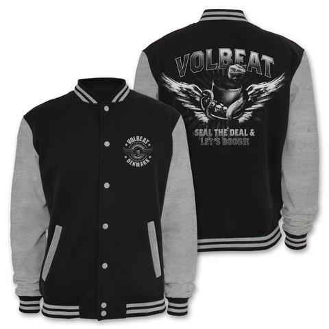 √Snake Hat von Volbeat - College Jacke jetzt im Volbeat Shop