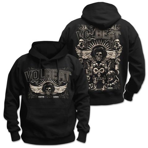 √Character Collage von Volbeat - Kapuzenpullover jetzt im Volbeat Shop