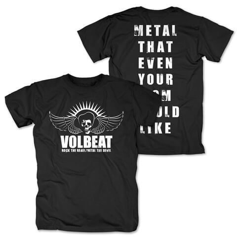 Rock the Rebel - Metal the Devil white von Volbeat - T-Shirt jetzt im Volbeat Shop