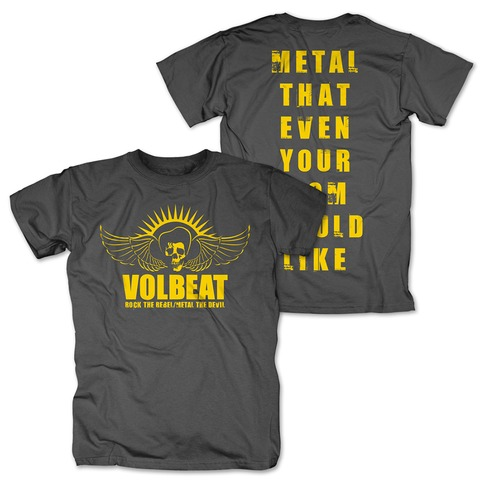 √Rock the Rebel - Metal the Devil yellow von Volbeat - T-Shirt jetzt im Volbeat Shop