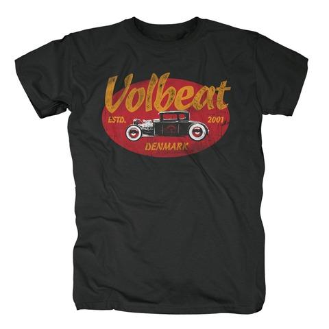 √Oval Car von Volbeat - T-shirt jetzt im Volbeat Shop