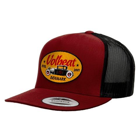 √Oval Car Badge von Volbeat - Mesh Cap jetzt im Volbeat Shop