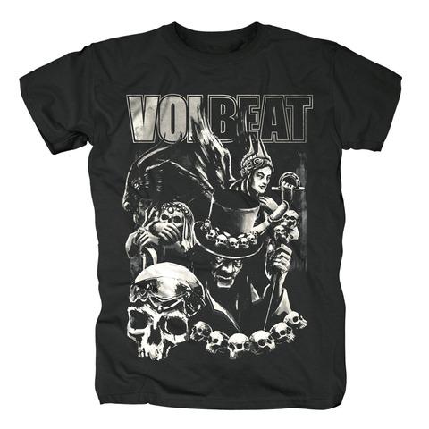√Black Collage von Volbeat - T-Shirt jetzt im Volbeat Shop