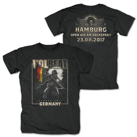 √Event 23.8.17 Hamburg von Volbeat - T-Shirt jetzt im Volbeat Shop