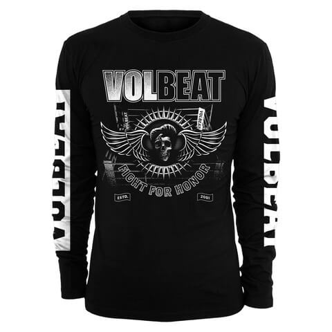 √Fight For Honor von Volbeat - Longsleeve jetzt im Volbeat Shop