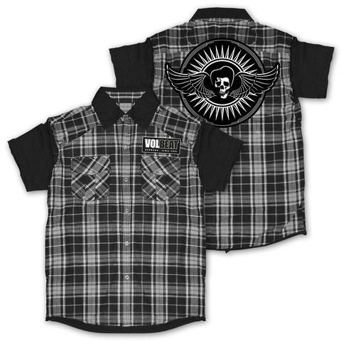 √Skullwing Circle von Volbeat - Worker Shirt jetzt im Volbeat Shop