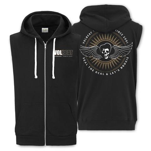 √Skullwing Circle von Volbeat - Sleeveless Hoodie jetzt im Volbeat Shop