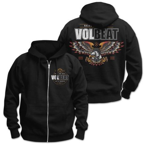√Victorious von Volbeat - Hooded jacket jetzt im Volbeat Shop