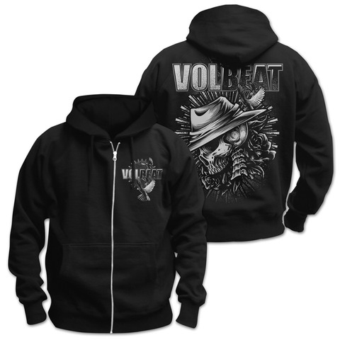 √Heaven & Hell von Volbeat - Hooded jacket jetzt im Volbeat Shop