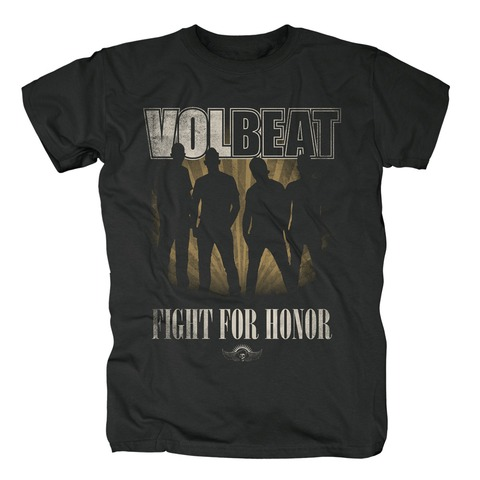 Fight For Honor Silhouette von Volbeat - T-Shirt jetzt im Volbeat Shop