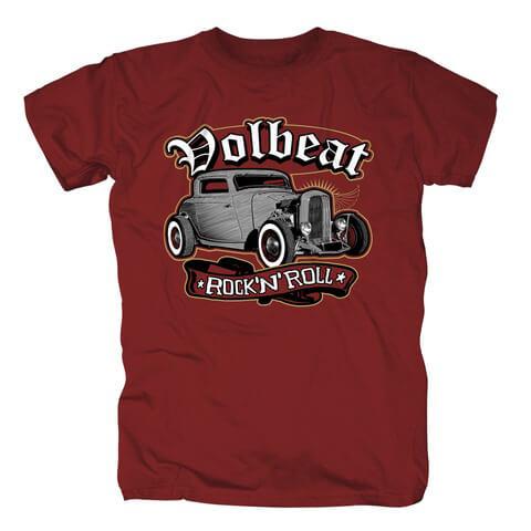 √Rock N Roll Red von Volbeat - T-Shirt jetzt im Volbeat Shop