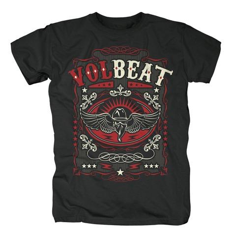 √Western Wings Black von Volbeat - T-Shirt jetzt im Volbeat Shop