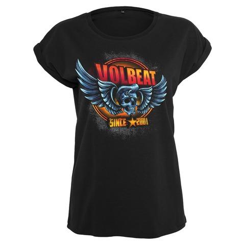 √Dimension Skullwing von Volbeat - Girlie Shirt jetzt im Volbeat Shop