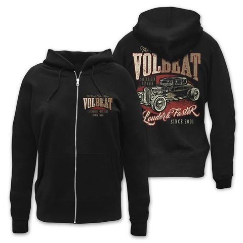 √Louder & Faster von Volbeat - Girlie hooded jacket jetzt im Volbeat Shop