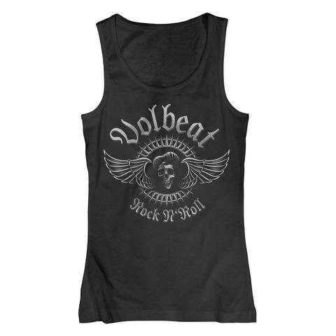 √Rock N Skull von Volbeat - Girlie tank top jetzt im Volbeat Shop