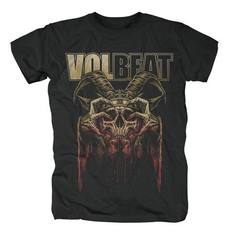 √Bleeding Crown Skull von Volbeat - T-Shirt jetzt im Volbeat Shop