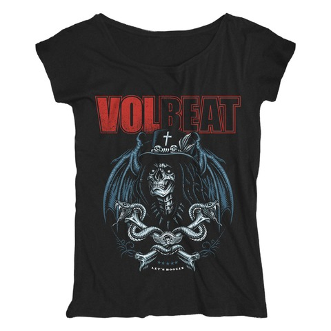 √Voodoo Boogie von Volbeat - Girlie Shirt Loose Fit jetzt im Volbeat Shop