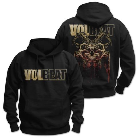 √Bleeding Crown Skull von Volbeat - Hood sweater jetzt im Volbeat Shop