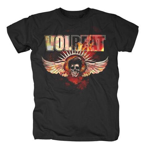 √Burning Skullwing von Volbeat - T-Shirt jetzt im Volbeat Shop