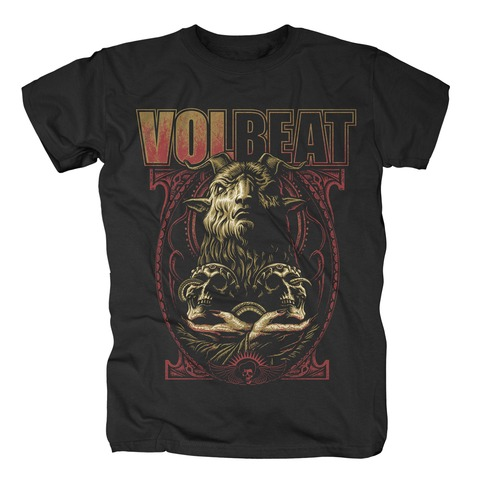 √Voodoo Goat von Volbeat - T-Shirt jetzt im Volbeat Shop