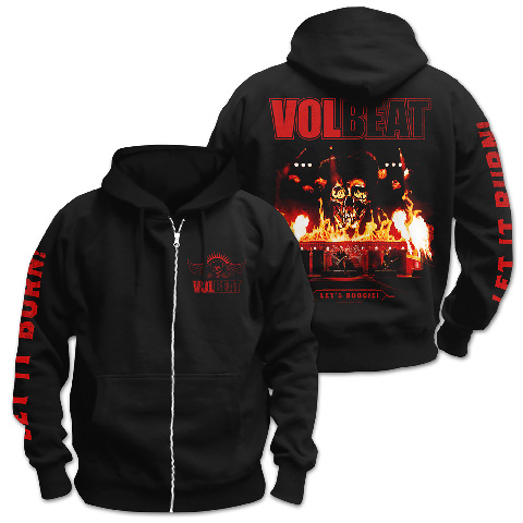 √Let It Burn von Volbeat - Hooded jacket jetzt im Volbeat Shop