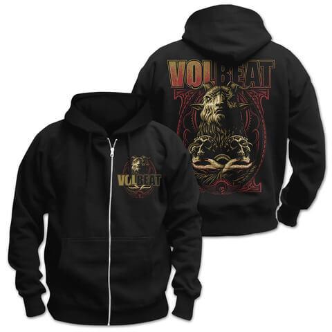√Voodoo Goat von Volbeat - Hooded jacket jetzt im Volbeat Shop