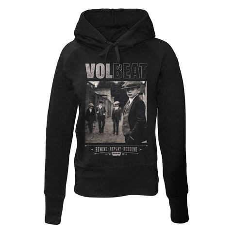 √Rewind Replay Rebound Cover von Volbeat - Girlie hooded sweater jetzt im Volbeat Shop