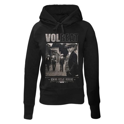 Rewind Replay Rebound Cover von Volbeat - Girlie Kapuzenpullover jetzt im Volbeat Shop
