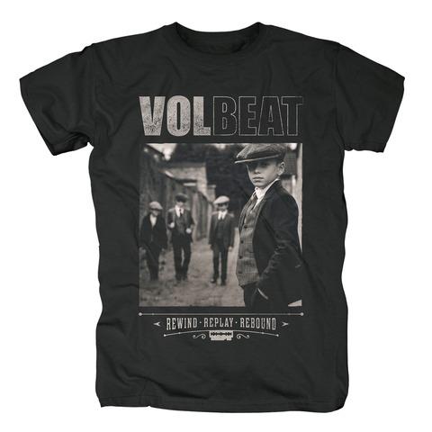 √Rewind Replay Rebound Cover von Volbeat - T-Shirt jetzt im Volbeat Shop