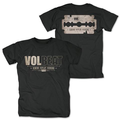 √Distressed Logo - black von Volbeat - T-Shirt jetzt im Volbeat Shop
